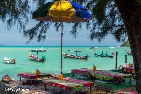 Aek Seafood restaurant in Rawai, Phuket