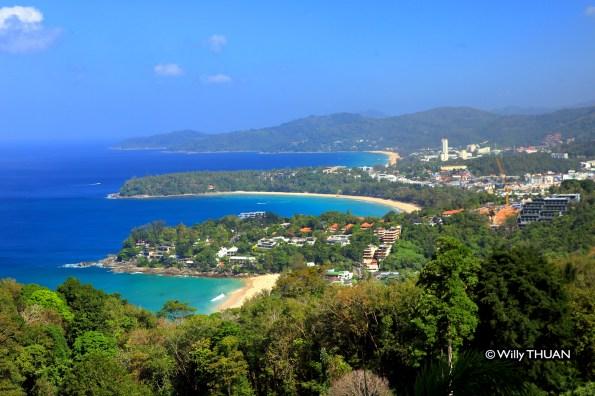 Kata Beach from Karon Viewpoint