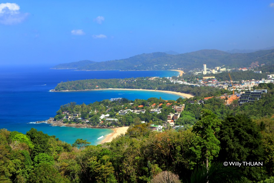 Kata Beach from Karon Viewpoint