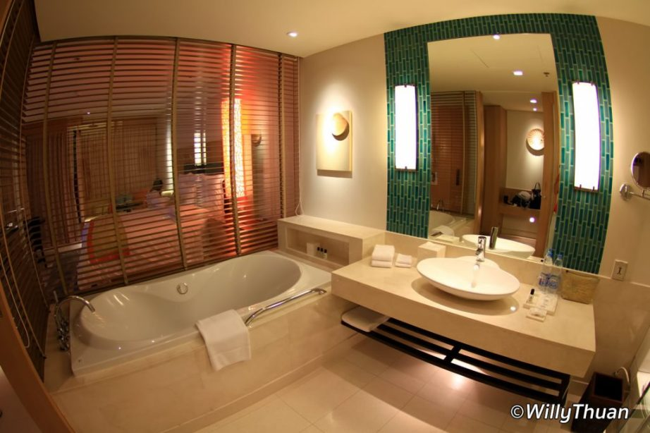 Bathroom at Renaissance Phuket Resort