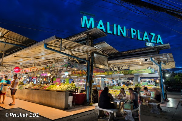Malin Plaza Night Market in Patong Beach