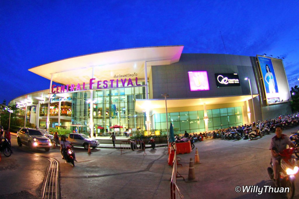 Central Festival Shoppin Mall in Phuket Town
