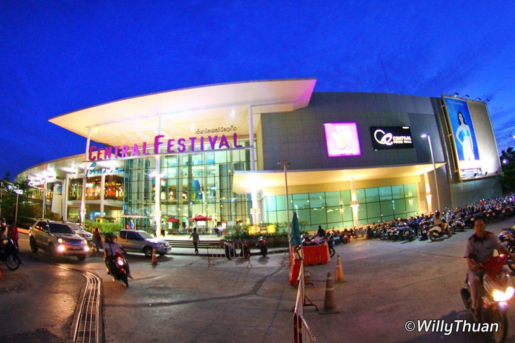 Central Festival Shoppin Mall in Phuket Town