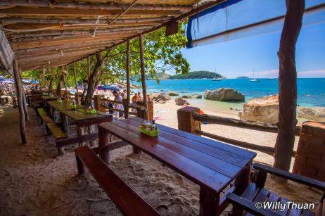 Ao Sane, just next to Nai Harn Beach