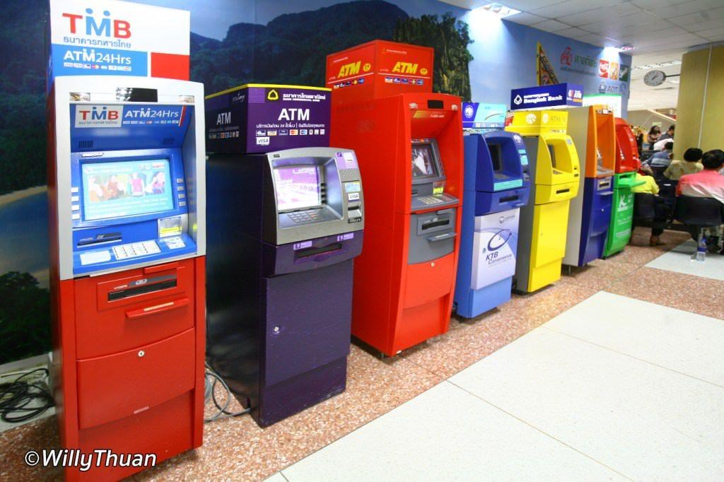 Money Changing at Phuket Airport