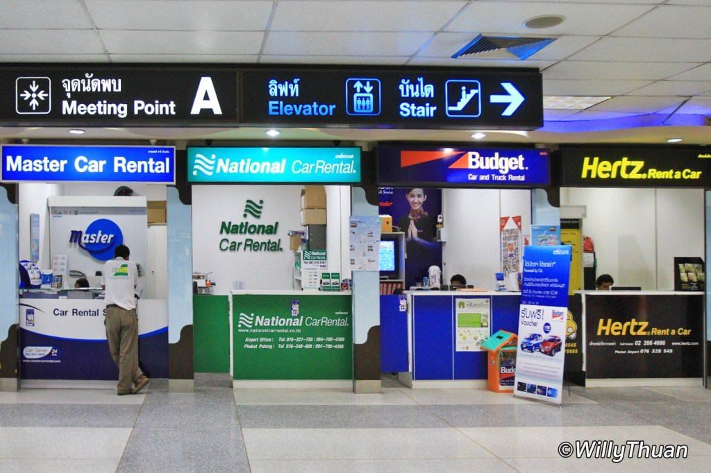 Car Rental in Phuket Airport