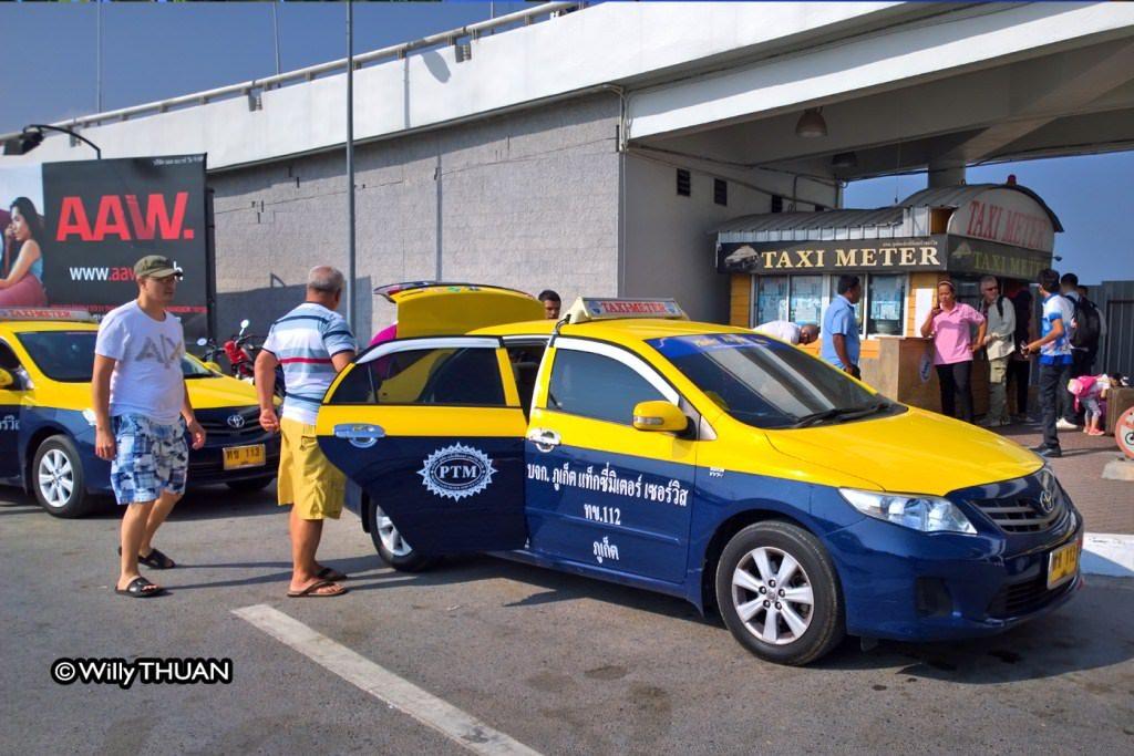 Phuket Airport Taxi Meter
