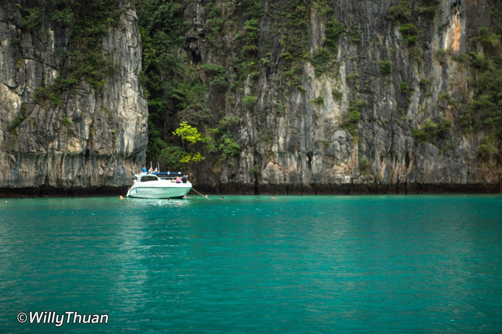 how to get to phi phi island
