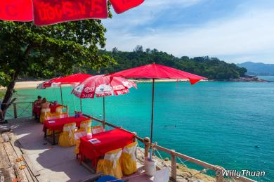 Restaurant on Laem Singh Beach