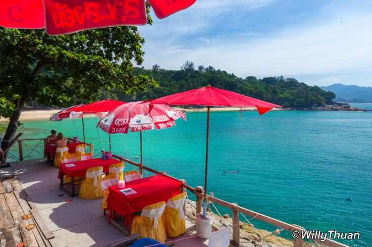 Restaurant on Laem Singh Beach