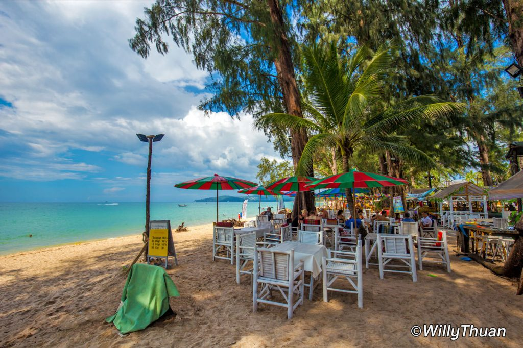 Bangtao Beach restaurants