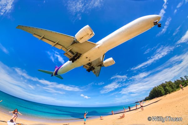 Plane Spotting in Phuket – Where to see planes landing in Phuket?