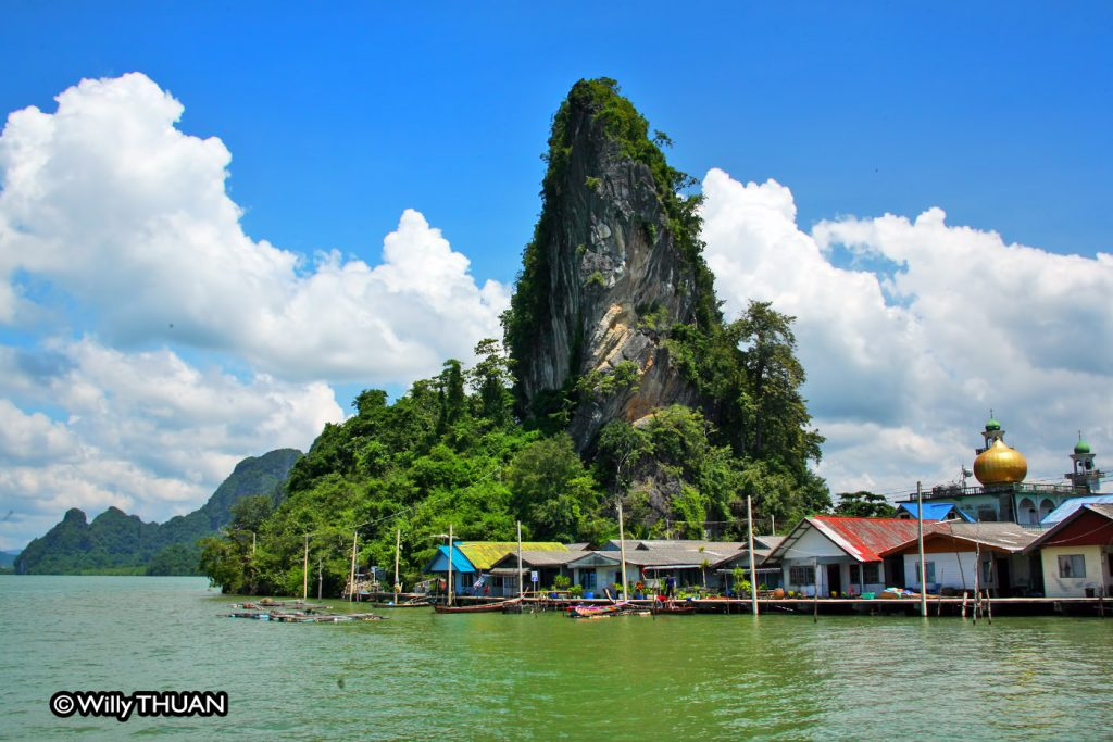 Houses on Koh Panyee