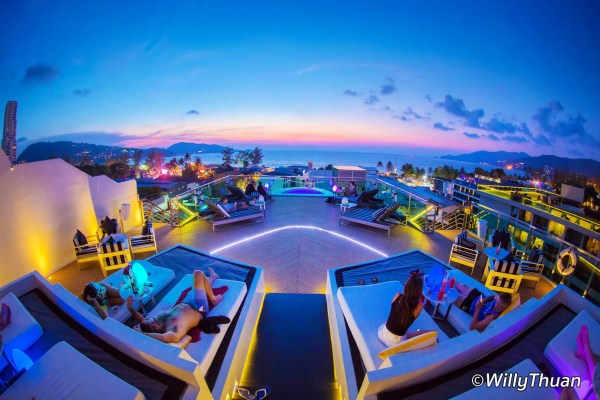 KEE Sky Lounge at the Kee Resort, Patong Beach