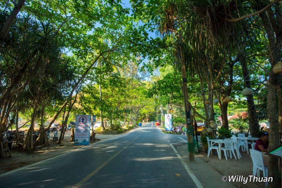 The Road to Ya Nui Beach