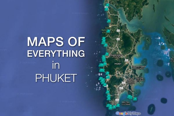 Phuket Maps – Maps of Everything in Phuket