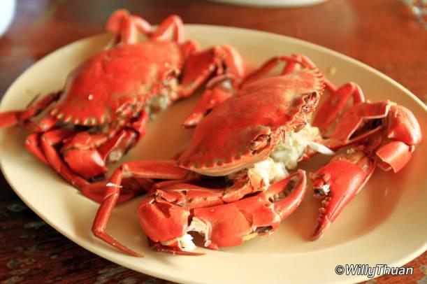 Mud Crabs at Chaiyo Seafood
