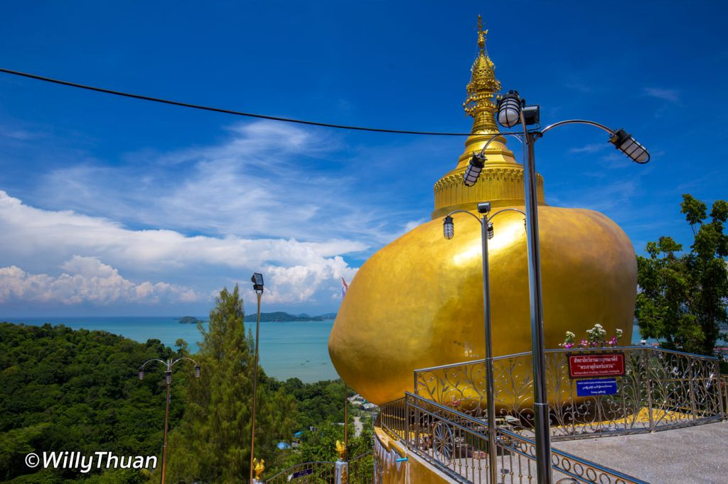 Golden Rock on Wat Koh Sirey