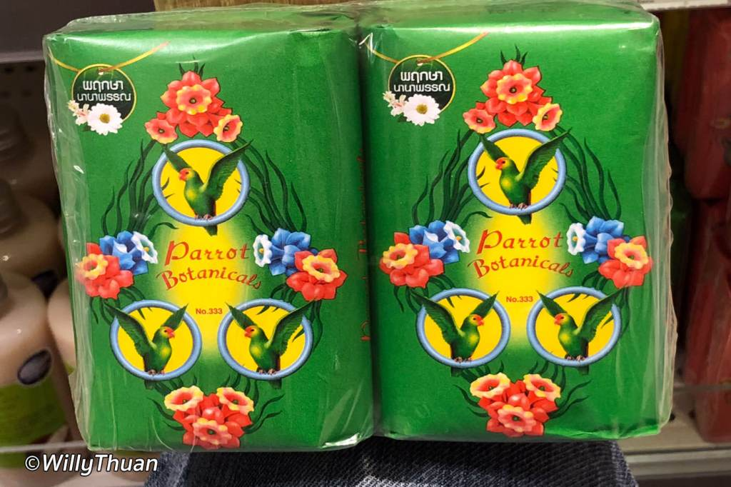 Parrot Thai Soap