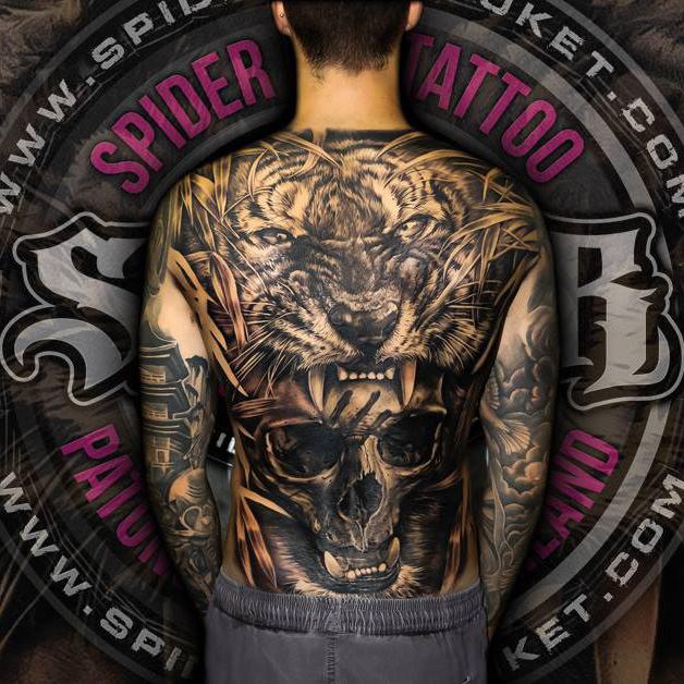 Spider Ink Tattoo