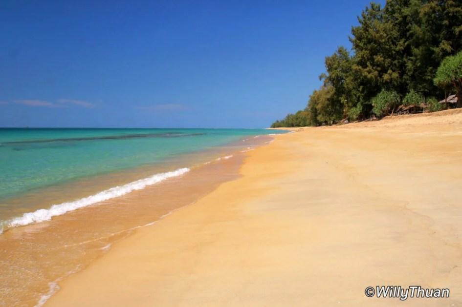 Haad Sai Kaew Beach in Phuket