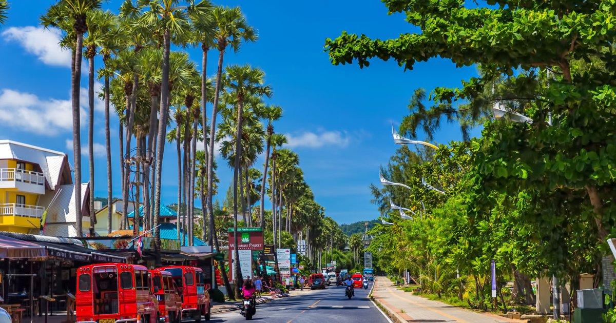 Driving around Phuket in 1 Day