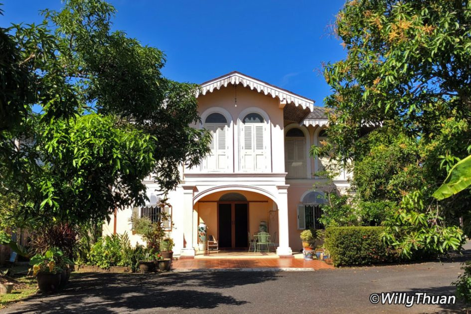 Sino Portuguese Mansion in Phuket City