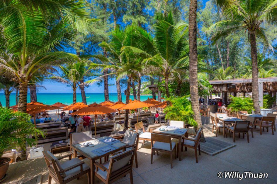 Phuket Beach Club in the morning on Kamala Beach