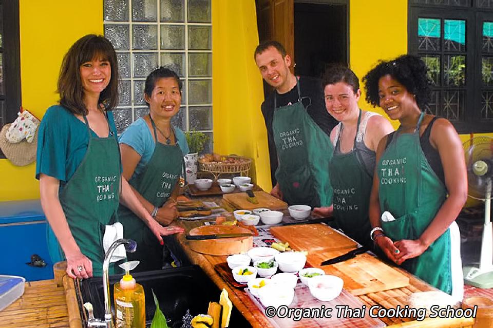 Organic Thai Cooking School