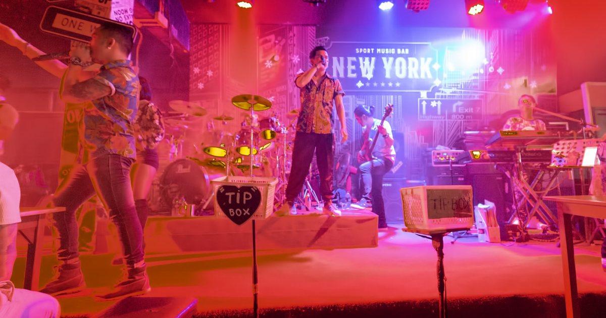 Phuket Live Band Bars in Patong