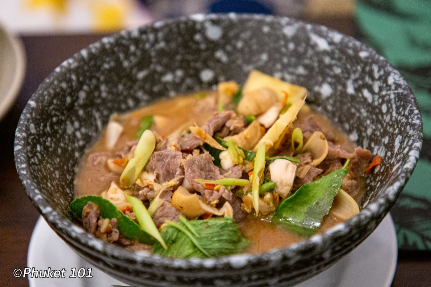 Beef Spicy Soup