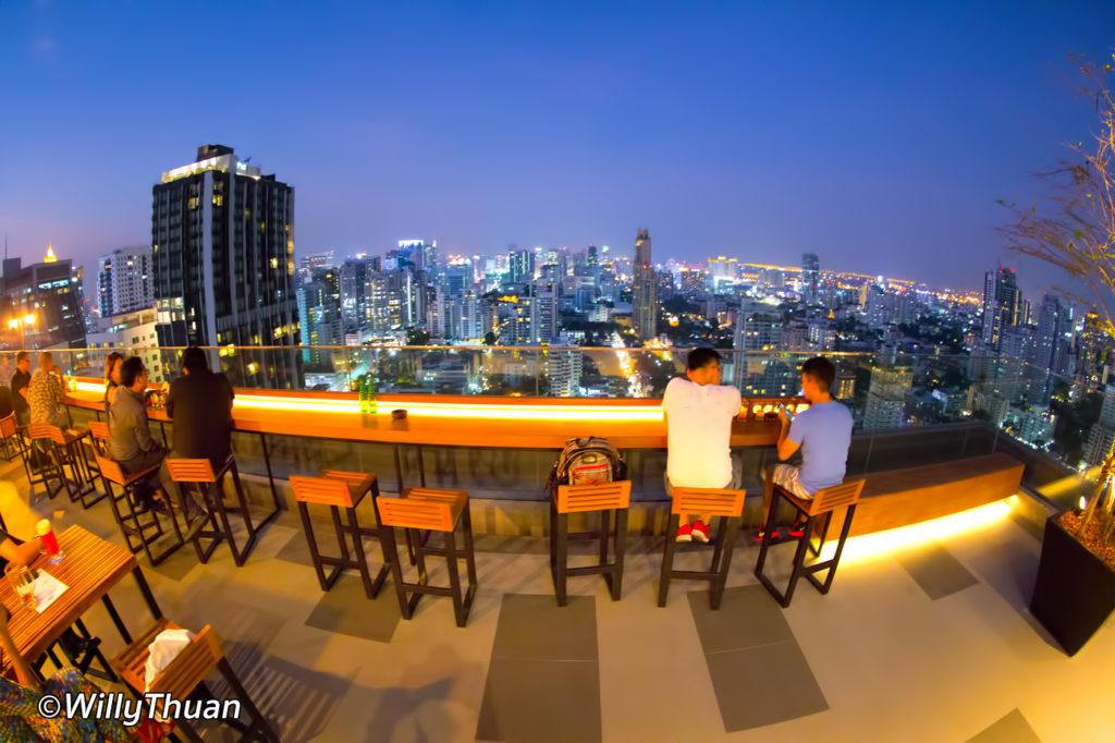 Brewski Rooftop Bar Bangkok