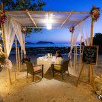 Romantic Beach Dinner at Thavorn Beach Village