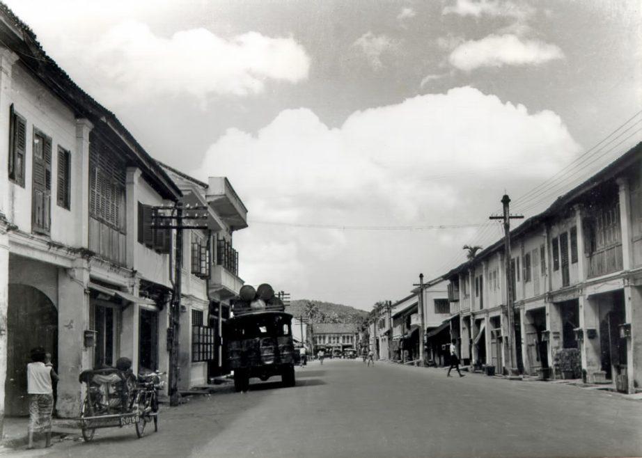 Phang Nga Road in Phuket Town