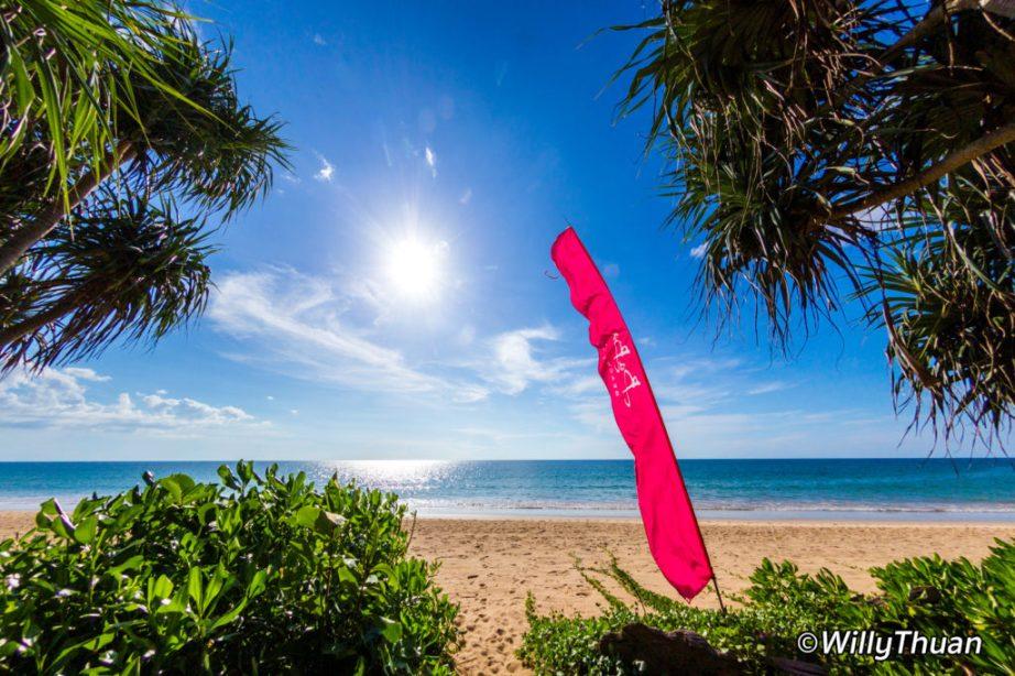Baba Beach Club on Natai Beach