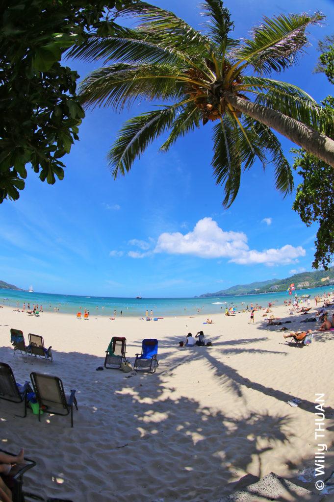 Patong Beach on Phuket West Coast