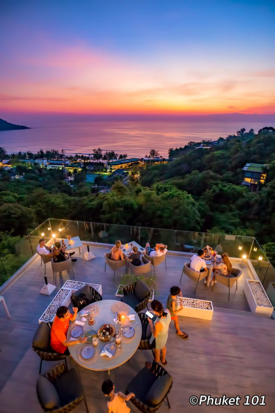 The Sundeck Rooftop Bar in Phuket