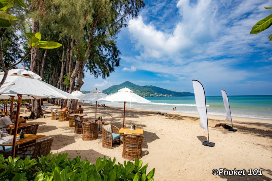 Pine Beach Club in Phuket on Kamala Beach