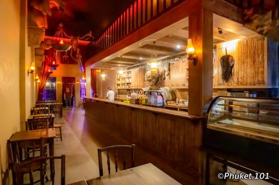 Inside Hog's Head Pub Phuket