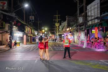 Phuket nightlife during COVID-19