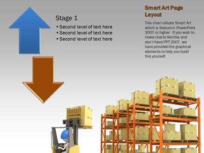 The Shipping Warehouse A Powerpoint Template From