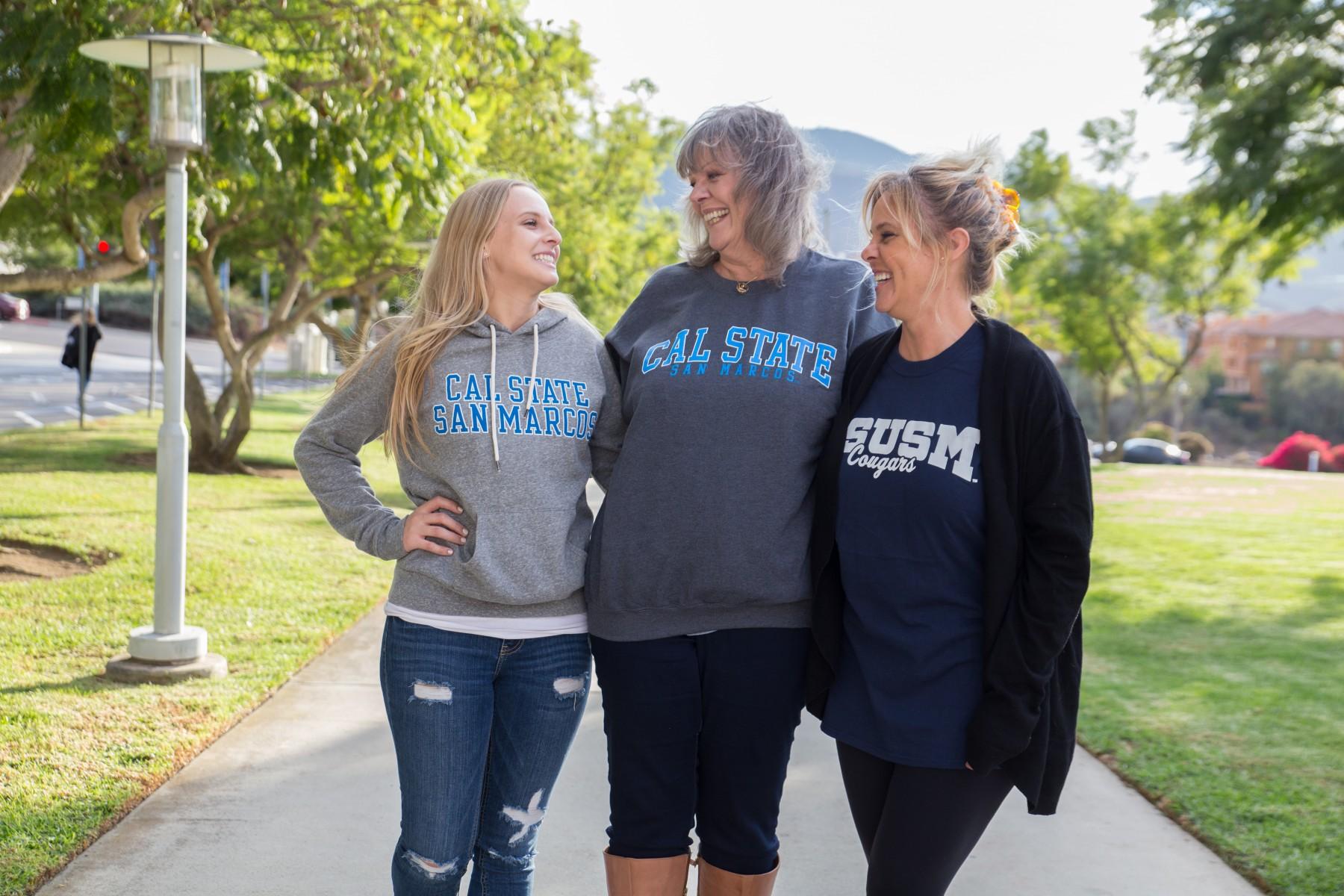 Three Generations at CSUSM