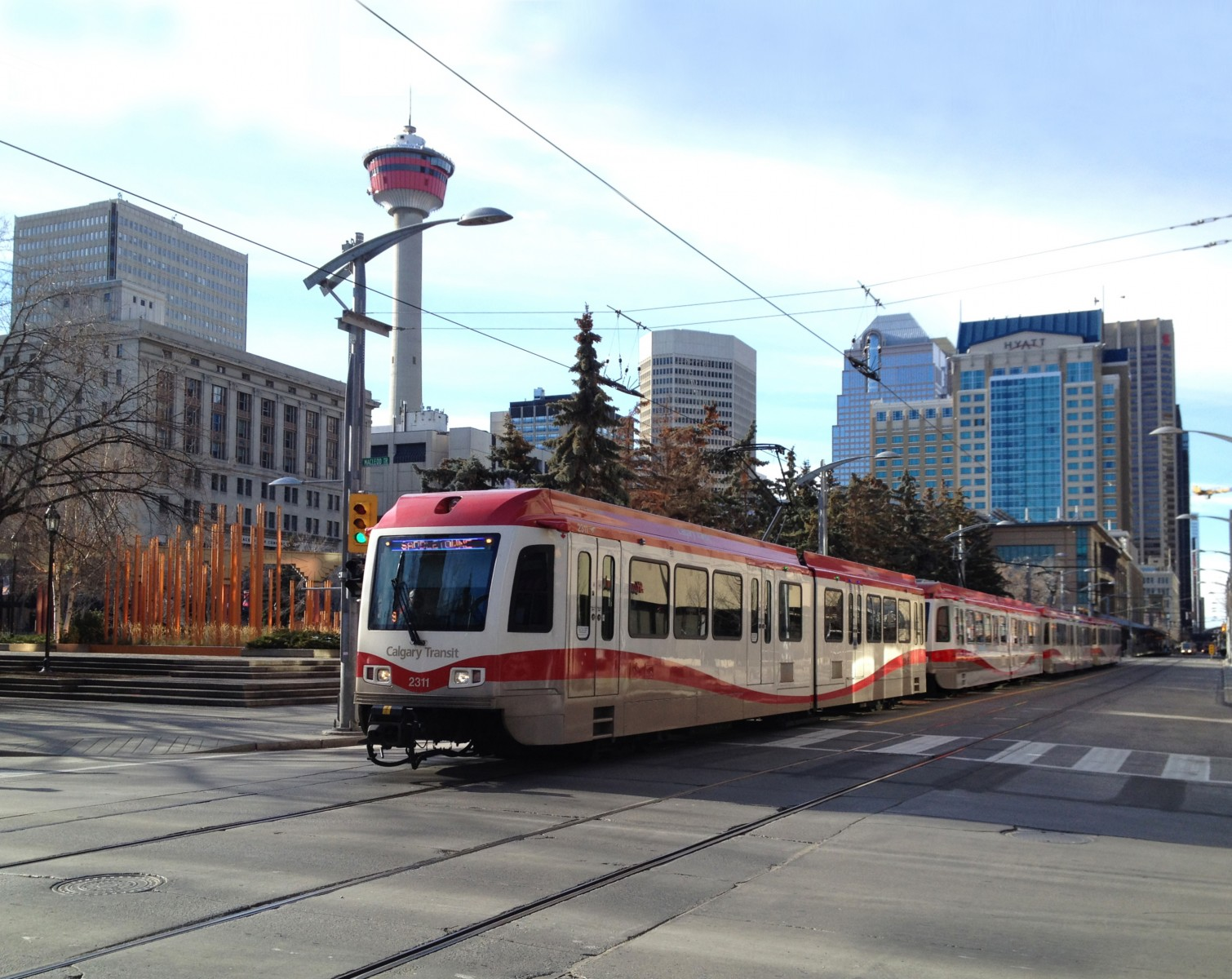 Calgary Transit Launches Four Car CTrain Service On Blue Line
