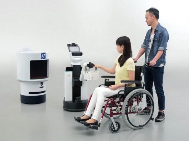 Robots Tokio 2020