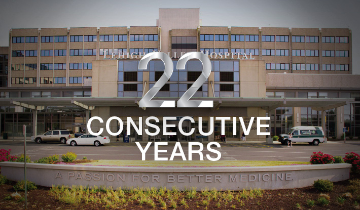 Lehigh Valley Hospital Named Among Best In U.S. For The