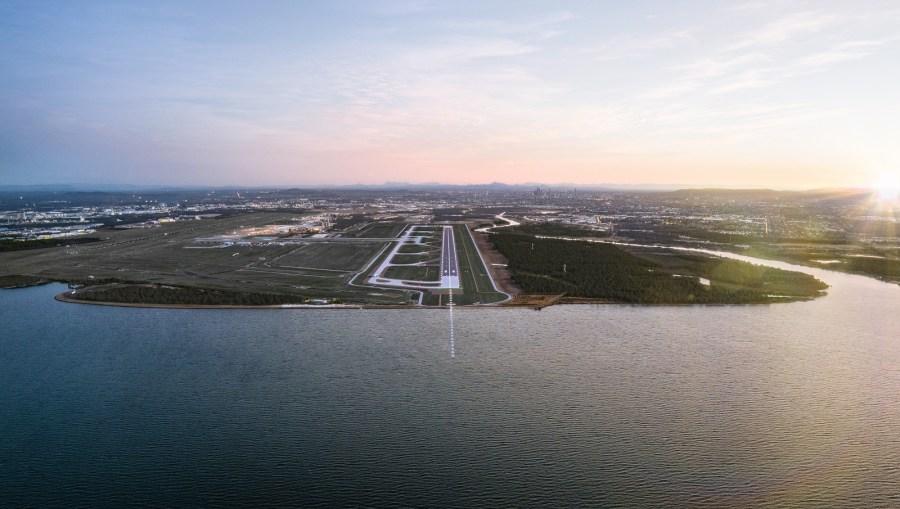 COVID-19 halts Brisbane's new runway community events