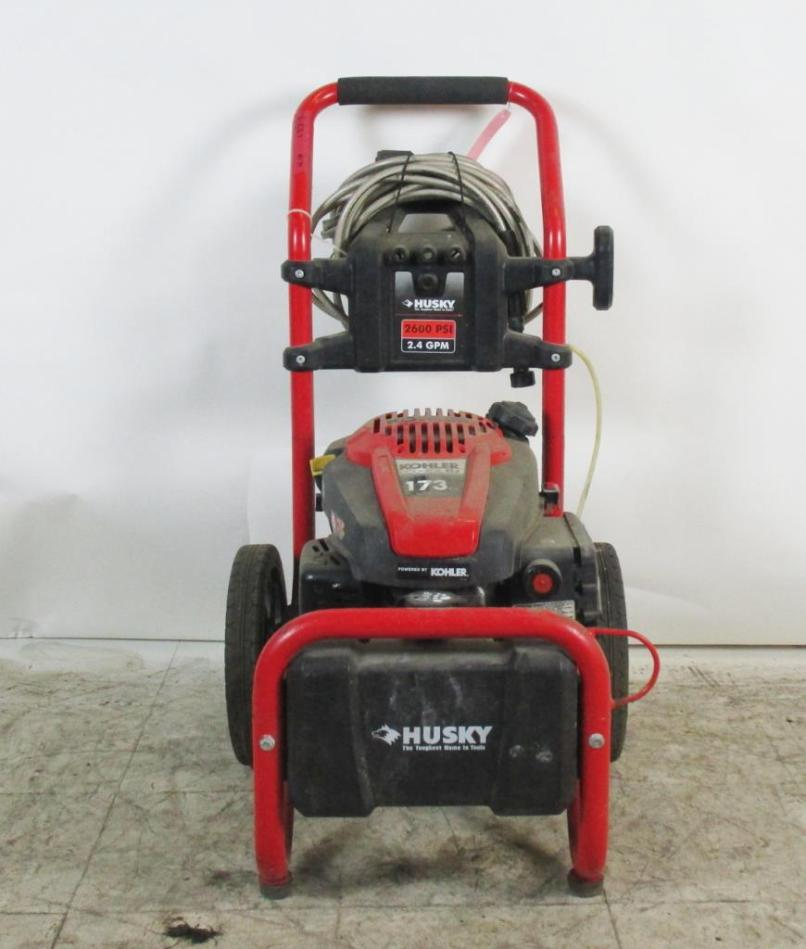 Husky Pressure Washer Property Room