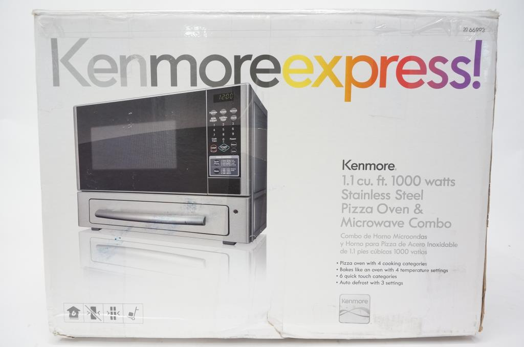 kenmore express microwave and pizza