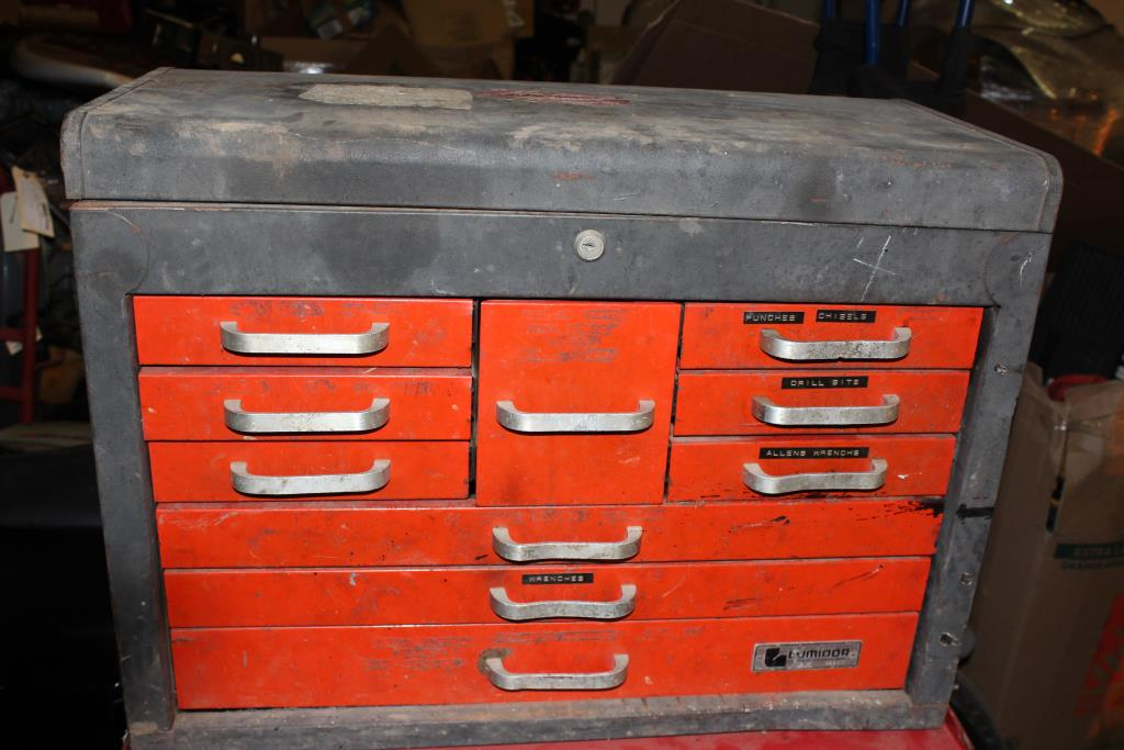 Lumidor Red Amp Black Tool Chest Property Room