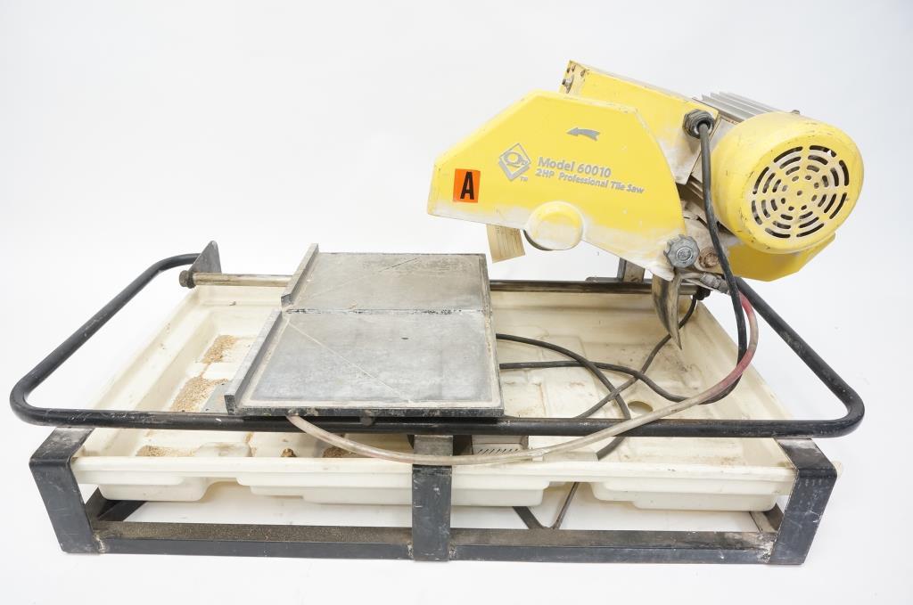 qep model 60010 wet tile saw property